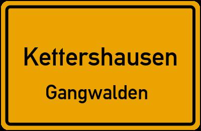 Straßenverzeichnis Kettershausen Gangwalden