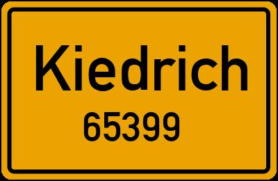 65399 Kiedrich