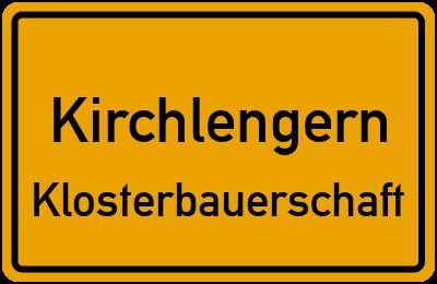 Ortsschild Kirchlengern Klosterbauerschaft