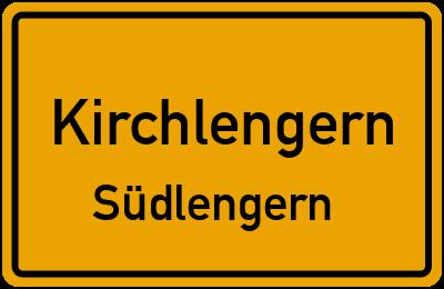 Ortsschild Kirchlengern Südlengern