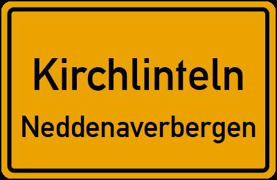 Ortsschild Kirchlinteln Neddenaverbergen