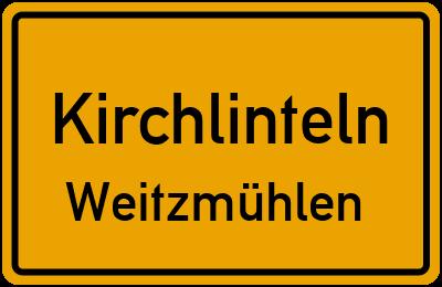 Ortsschild Kirchlinteln Weitzmühlen