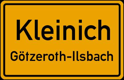 Kleinich Götzeroth-Ilsbach