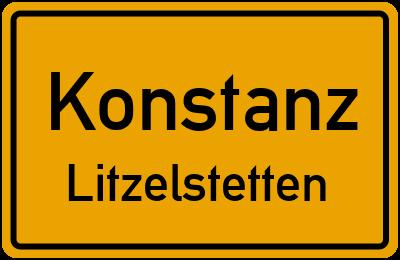 Ortsschild Konstanz Litzelstetten