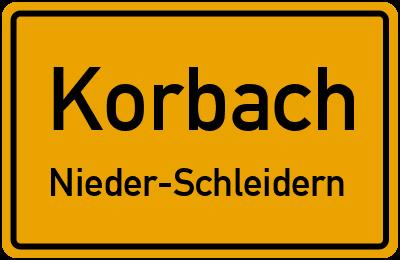 Korbach Nieder-Schleidern