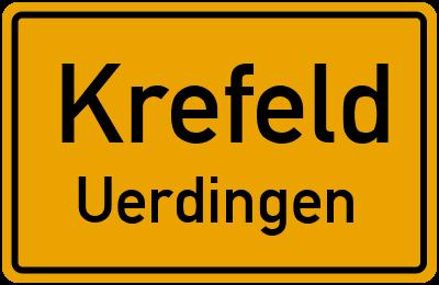 Körnerstraße in KrefeldUerdingen