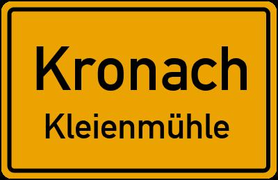 Rhodter Straße in KronachKleienmühle