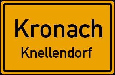 Gundelsdorfer Straße in KronachKnellendorf