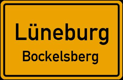 Ortsschild Lüneburg Bockelsberg