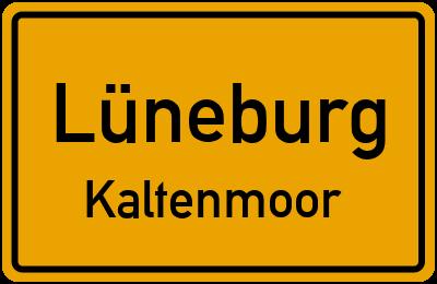 Ortsschild Lüneburg Kaltenmoor