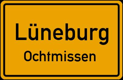 Ortsschild Lüneburg Ochtmissen