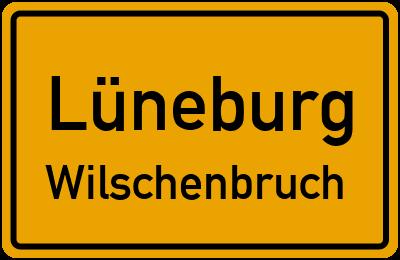 Ortsschild Lüneburg Wilschenbruch