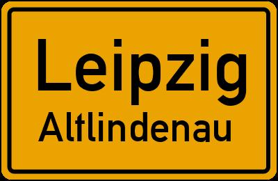Straßenverzeichnis Leipzig Altlindenau