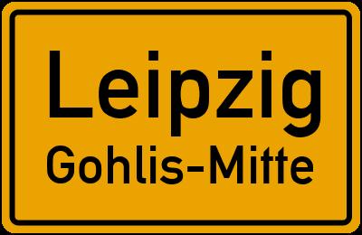 Straßenverzeichnis Leipzig Gohlis-Mitte
