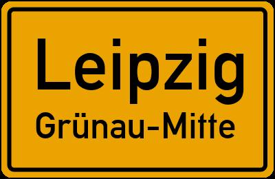 Potschkaustraße in LeipzigGrünau-Mitte