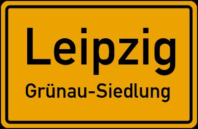 Straßenverzeichnis Leipzig Grünau-Siedlung