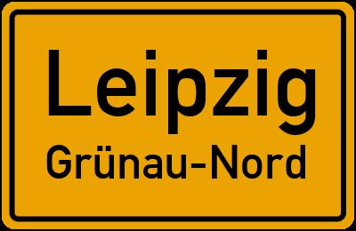 Straßenverzeichnis Leipzig Grünau-Nord