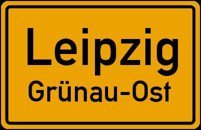 Straßenverzeichnis Leipzig Grünau-Ost