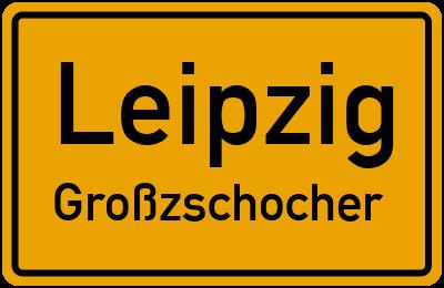 Straßenverzeichnis Leipzig Großzschocher