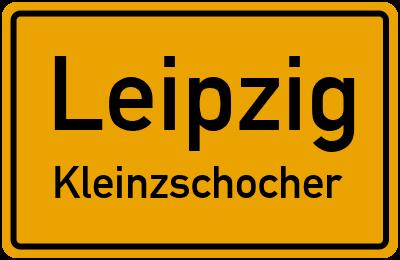 Straßenverzeichnis Leipzig Kleinzschocher