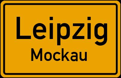 Ortsschild Leipzig Mockau