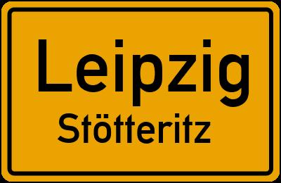 Ortsschild Leipzig Stötteritz