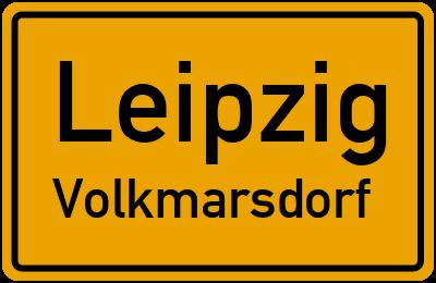Ortsschild Leipzig Volkmarsdorf