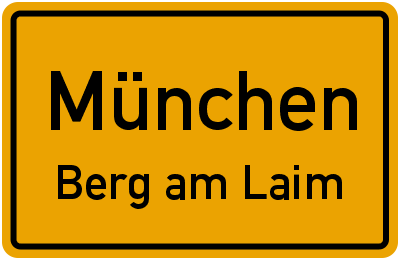 Baumkirchner Straße in MünchenBerg am Laim