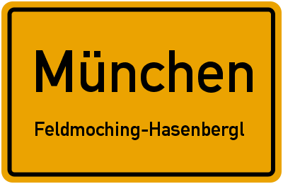 Dachauer Straße in MünchenFeldmoching-Hasenbergl
