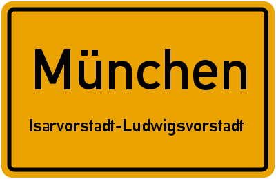 Senefelderstraße in MünchenIsarvorstadt-Ludwigsvorstadt