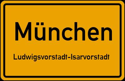 Prielmayerstraße in MünchenLudwigsvorstadt-Isarvorstadt