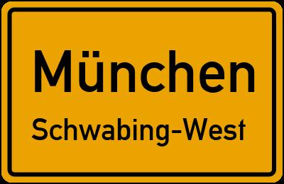 Clemensstraße in MünchenSchwabing-West