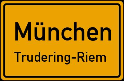 Hans-Pfann-Straße in MünchenTrudering-Riem