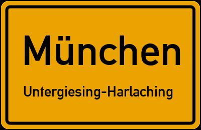 Agilolfingerstraße in MünchenUntergiesing-Harlaching