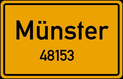 Karte Nrw Plz.Plz 48153 In Munster Stadtteil Der Postleitzahl 48153