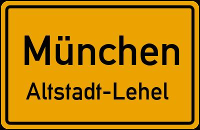 Straßenverzeichnis München Altstadt-Lehel