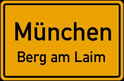 Straßenverzeichnis München Berg am Laim