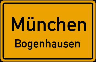 Straßenverzeichnis München Bogenhausen