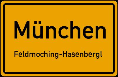 Straßenverzeichnis München Feldmoching-Hasenbergl