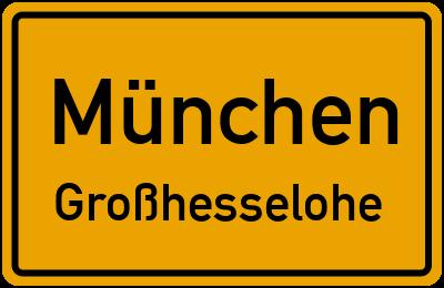 Straßenverzeichnis München Großhesselohe