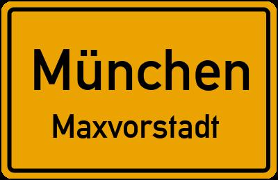 Arcisstraße in MünchenMaxvorstadt