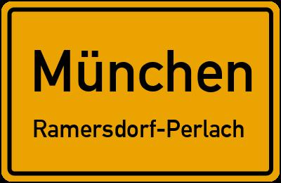 Straßenverzeichnis München Ramersdorf-Perlach