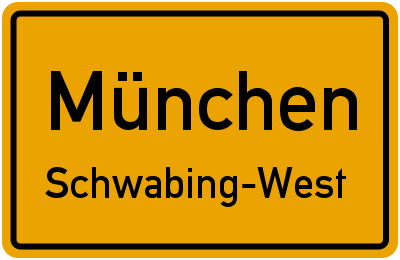Petra-Kelly-Straße in MünchenSchwabing-West