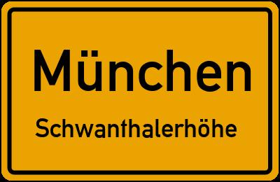 Westendstraße in MünchenSchwanthalerhöhe