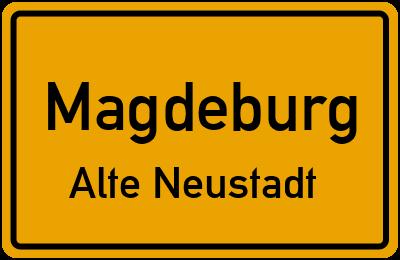 Ansbacher Straße in MagdeburgAlte Neustadt