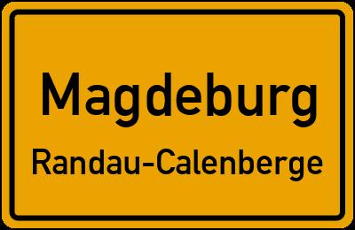 Straßenverzeichnis Magdeburg Randau-Calenberge