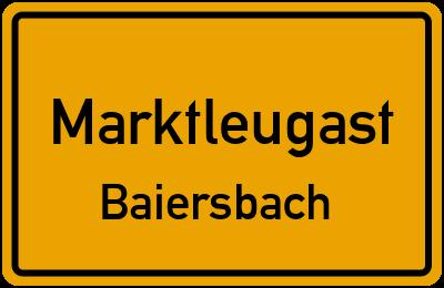 Marktleugast Baiersbach