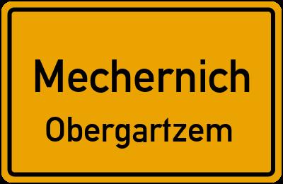 Steingrubenweg in MechernichObergartzem