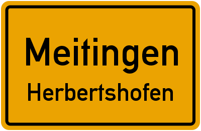 Ulrichstraße in MeitingenHerbertshofen