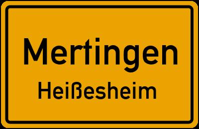 Am Feldhain Mertingen Heißesheim
